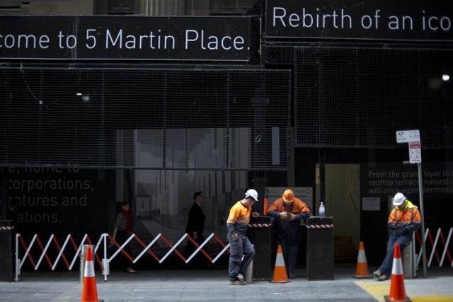 L'Australie, dont l'économie est en expansion depuis 21... (Photo: AFP)
