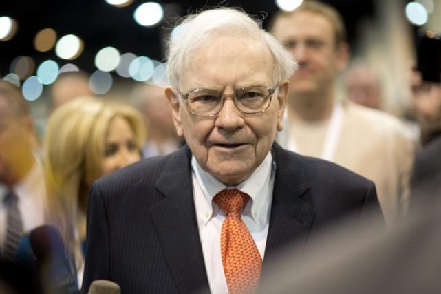 Warren Buffett n'a jamais fractionné le titre de... (Photo archives AFP)