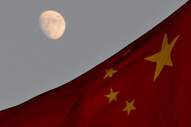 Le véhicule téléguidé envoyé par Pékin sur la Lune, qui ne donnait plus signe... (Photo: AFP)