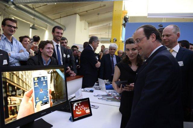 Selon le président Obama, François Hollande a «entrepris... (Photo: Reuters)