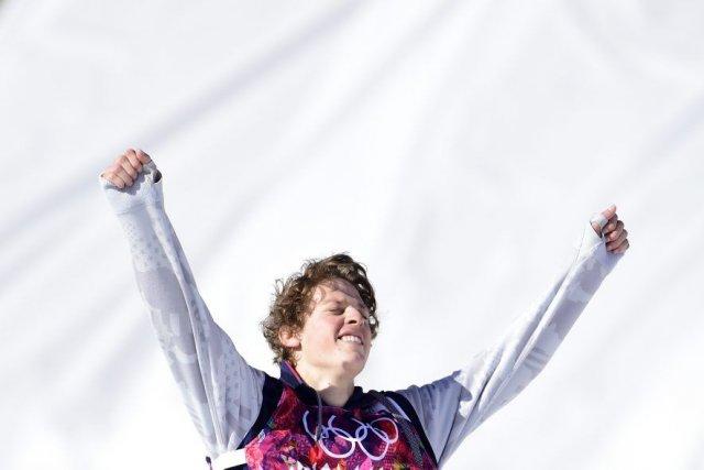 Joss Christensen a remporté la première médaille d'or... (PHOTO JAVIER SORIANO, AFP)