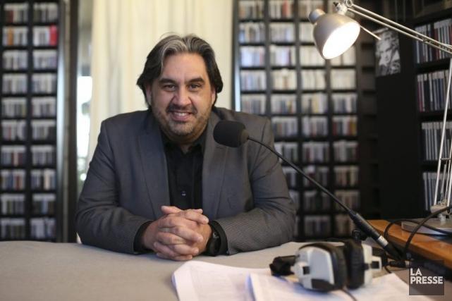 Maintenant animateur radio, le ténor Marc Hervieux ne... (Photo: Martin Chamberland, La Presse)