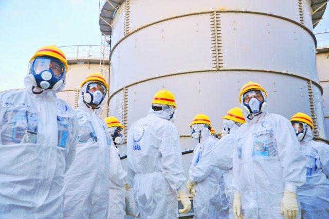 Dans ce texte remis au gouvernement japonais et... (PHOTO ARCHIVES AFP/AIEA)