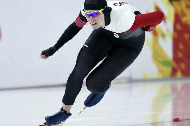 La Canadienne Christine Nesbitt a accusé un déficit... (Photo Adrian Wyld, PC)