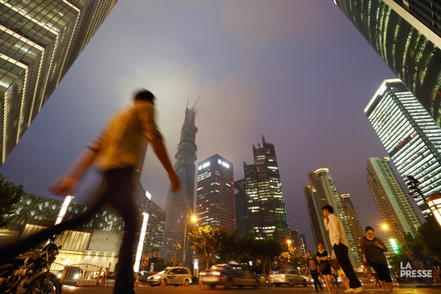 La Tour Shanghai (ou Shanghai Tower) a l'an... (PHOTO TOMOHIRO OHSUMI, ARCHIVES BLOOMBERG)