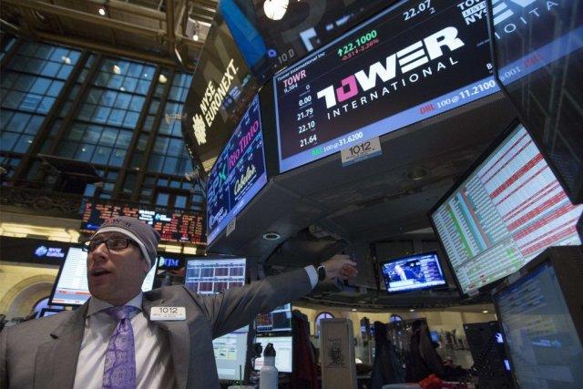 Wall Street a choisi d'ignorer de mauvais chiffres économiques aux États-Unis... (Photo Brendan McDermid, Reuters)