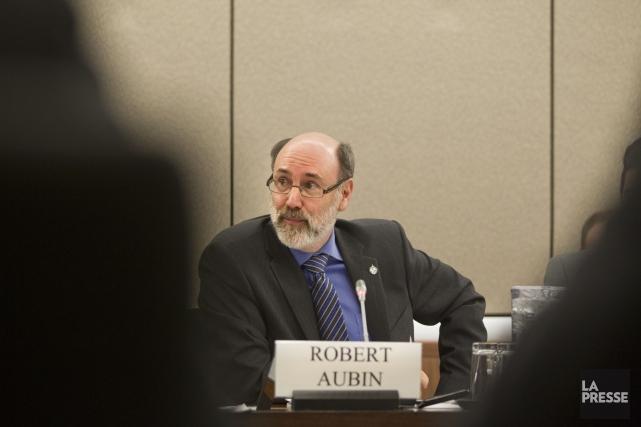 Le député néo-démocrate Robert Aubinsignale, entre autres, que... (Photo Ivanoh Demers, archives La Presse)