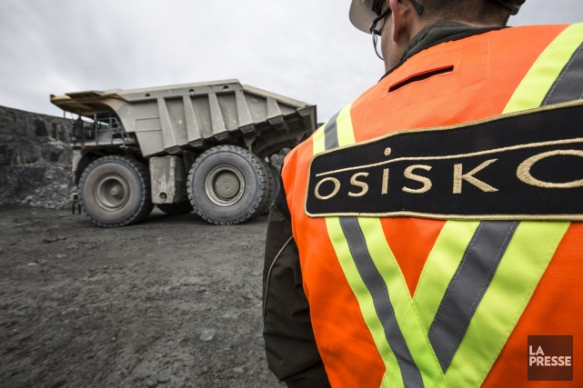 Les groupes aurifères canadiens Osisko (T.OSK) et Goldcorp (T.G)... (Photo Olivier Pontbriand, archives La Presse)