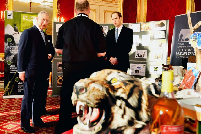 La conférence de Londres, née à l'initiative du... (PHOTO  JOHN STILLWELL, AFP)