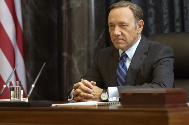 Kevin Spacey dans la seconde saison de House... (Photo: archives AP)