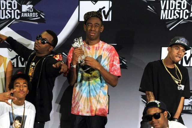 Le groupe Odd Future... (Photo: AP)