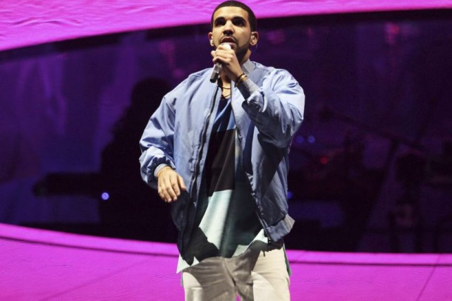 Drake en spectacle à Atlanta en novembre dernier.... (Photo: archives AP)