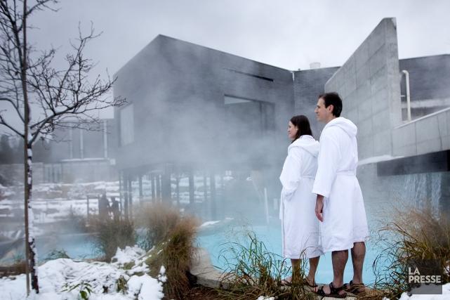 Selon l'étude, une fois au spa, près de... (Photos Marco Campanozzi, archives La Presse)
