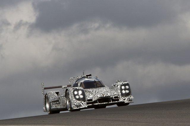 La Porsche 919 hybride qui représentera le constructeur... (Photo fournie par Porsche)