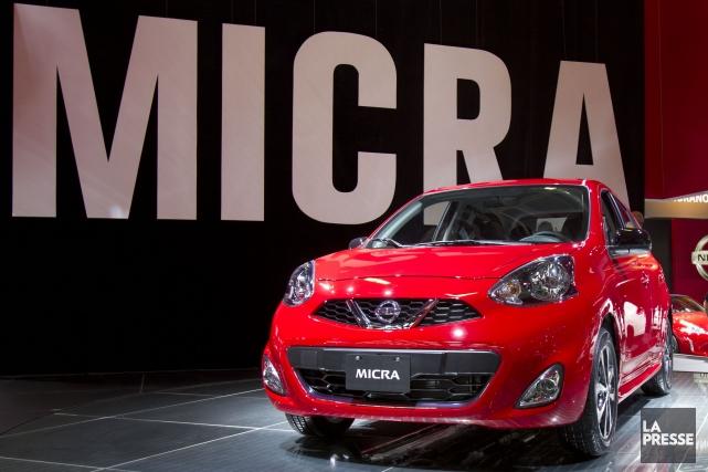 La nouvelle Nissan Micra, une sous-compacte réservée au... (PHOTO OLIVIER JEAN, LA PRESSE)