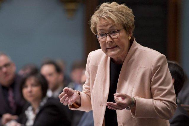 Une fois le budget déposé, PaulineMarois n'attendra pas... (Photo Jacques Boissinot, PC)