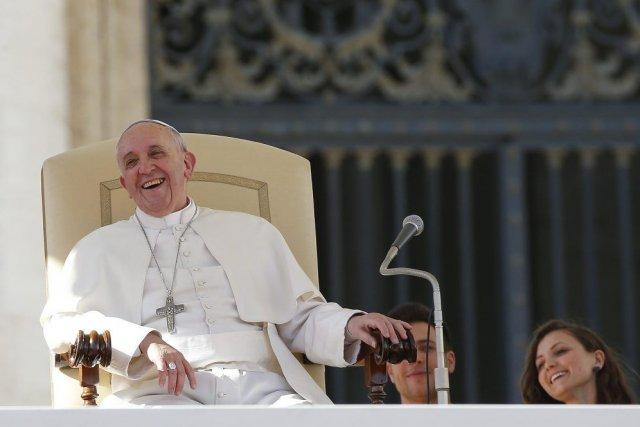 Le pape François.... (Photo AFP)