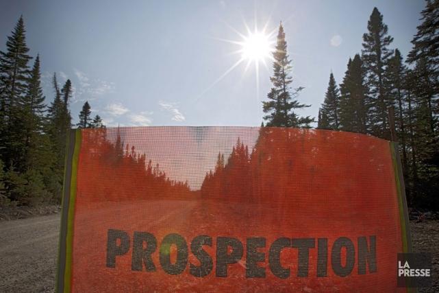 Prospection sursur l'île d'Anticosti.... (Photo Ivanoh Demers, archives La Presse)