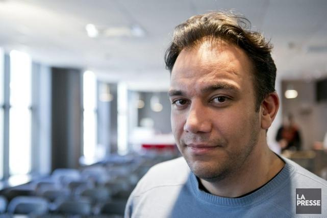 Arian Azarbar... (Photo Hugo-Sébastien Aubert, La Presse)
