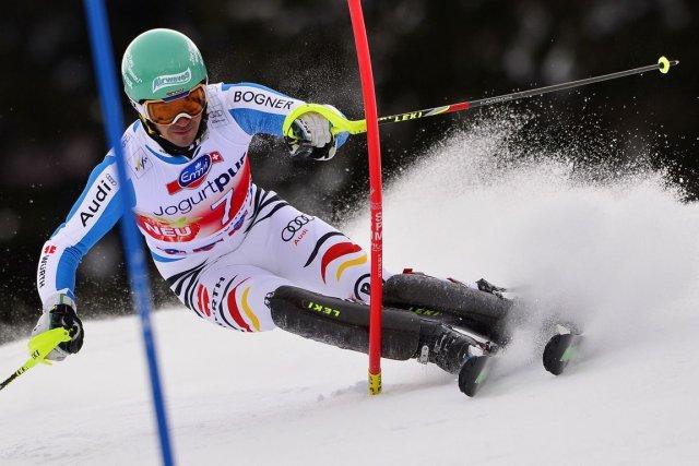 L'accident est survenu alors que Felix Neureuther se... (Photo Fabrice Coffrini, archives AFP)