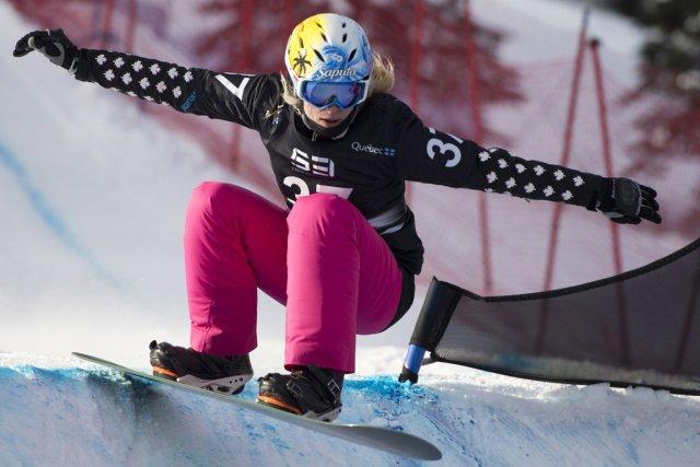 Dominique Maltais aborde ses derniers Jeux olympiques en... (Photo Jacques Boissinot, PC)