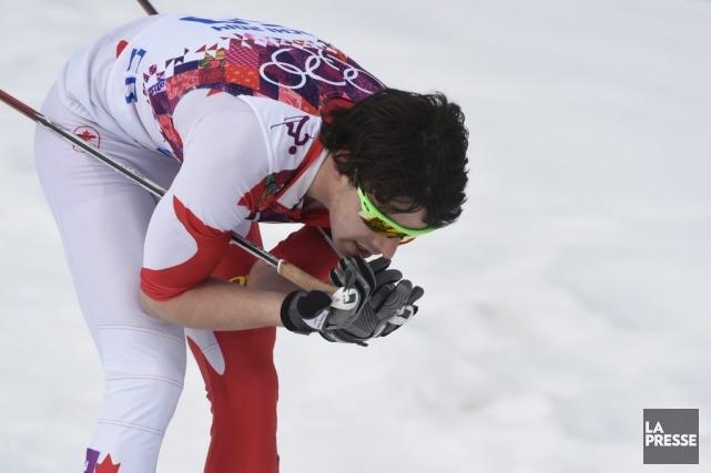 Alex Harvey a été ennuyé par un problème... (Photo Bernard Brault, La Presse)