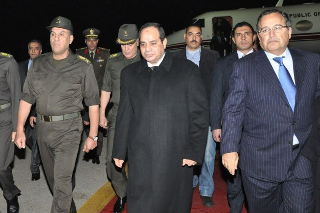 Abdel Fattah al-Sissi... (Photo AFP)