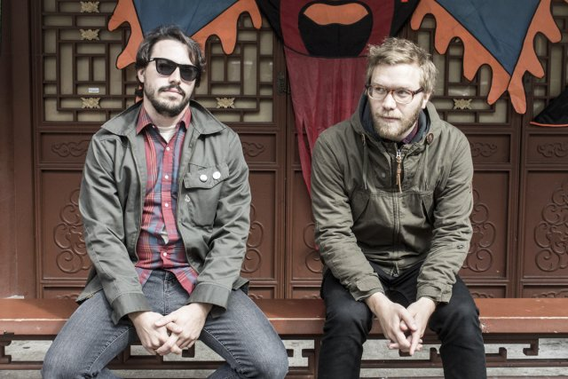 Le duo montréalais Solids est composé du batteur... (Photo: fournie par Fat Possum)