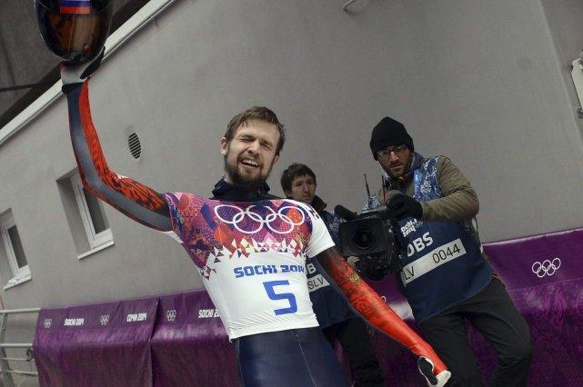 Alexander Tretiakov a été médaillé de bronze aux... (PHOTO LIONEL BONAVENTURE, AFP)