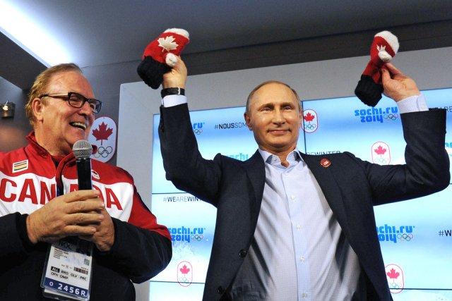 Le président du Comité olympique canadien Marcel Aubut... (Photo Michael Klimentyev, AFP)