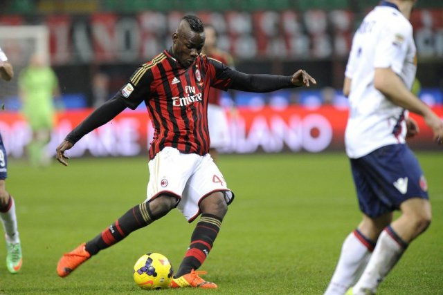 Balotelli, en crise depuis quelques mois, a ressorti... (PHOTO GIORGIO PEROTTINO, REUTERS)