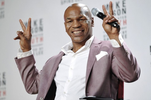 Mike Tyson... (Photo: AP)