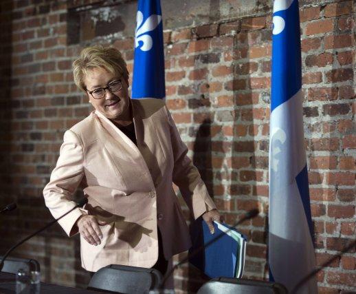 Pauline Marois, première ministre du Québec.... (Photo Ryan Remiorz, La Presse Canadienne)