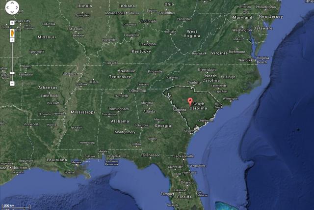 Un petit tremblement de terre a touché la Caroline du Sud vendredi soir,...