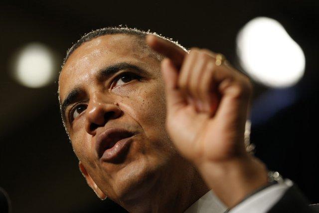 Le président américain, Barack Obama... (Kevin Lamarque, Reuters)