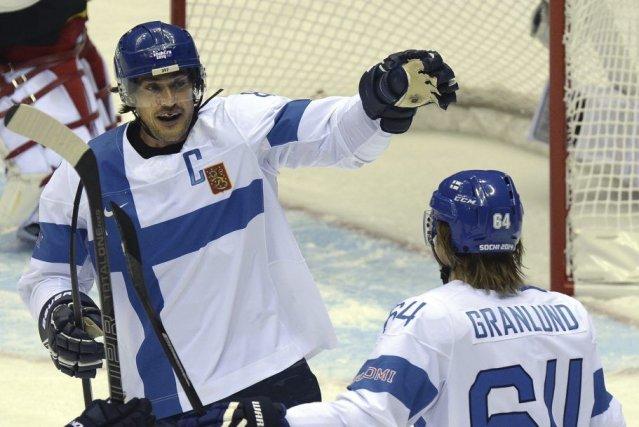Le capitaine finlandais a participé à six Jeux... (PHOTO ALEXANDER NEMENOV, AFP)