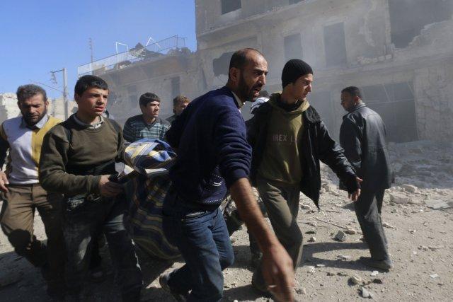 Selon l'Observatoire syrien des droits de l'Homme (OSDH),... (Photo Saad Abobrahim, Reuters)