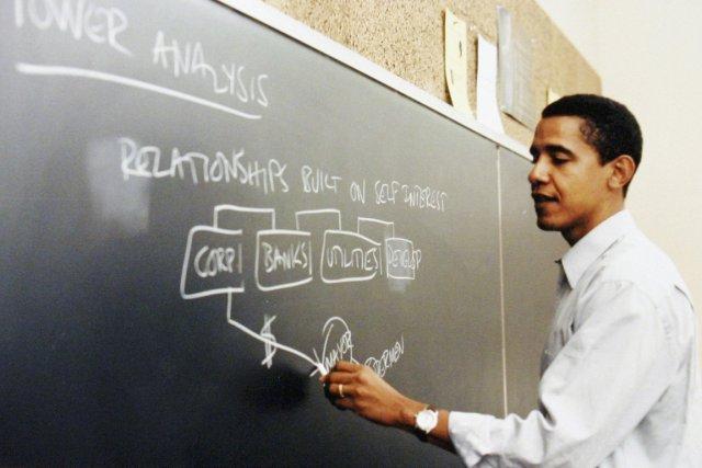 L'Université de Chicago, où Barack Obama a enseigné... (Photo archives, The Associated Press)