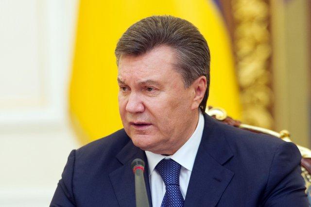 Le président Viktor Ianoukovitch a de son côté... (PHOTO GENYA SAVILOV, AFP)