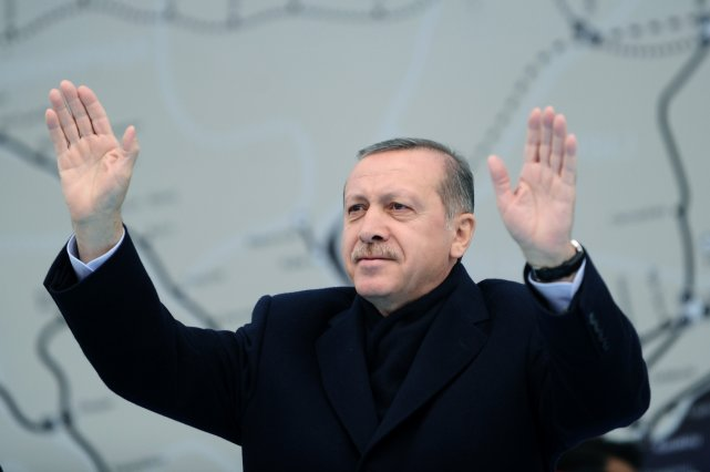 Le premier ministre Recep Tayyip Erdogan... (PHOTO OZAN KOSE, AFP)