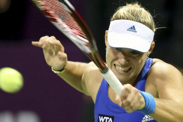 Angelique Kerber... (PHOTO KARIM JAAFAR, AFP)
