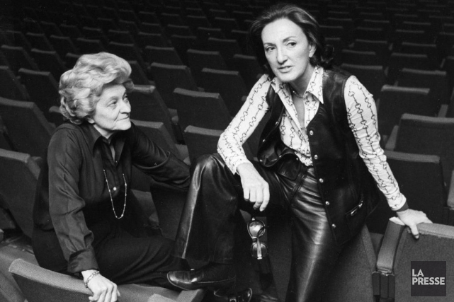 En 1948 naissait le Rideau Vert. Le théâtre... (PHOTO ARCHIVES LA PRESSE)