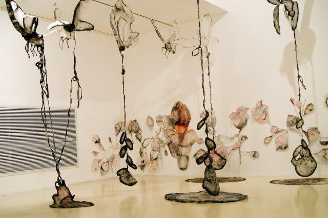 L'oeuvre de Ruthi Helbitz Cohen, Attention à la... (PHOTO FOURNIE PAR ART SOUTERRAIN)