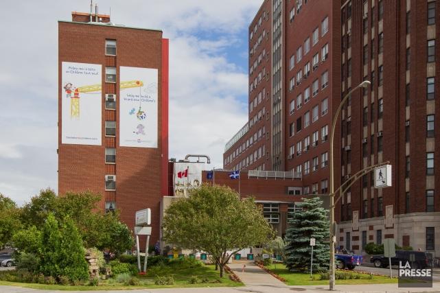 L'Hôpital de Montréal pour enfants lance un appel... (PHOTO EDOUARD PLANTE-FRÉCHETTE,  ARCHIVES LA PRESSE)