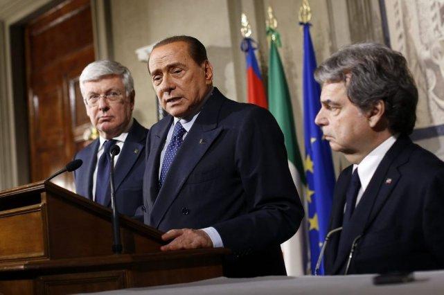 LeCavaliere, toujours aux commandes de son parti Forza... (PHOTO TONY GENTILE, REUTERS)