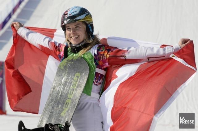 Dominique Maltais a été solide lors de chacune... (Photo Bernard Brault, La Presse)