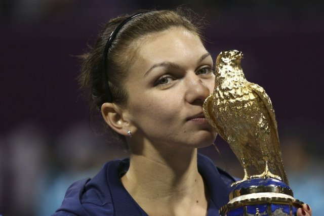 Simona Halep... (PHOTO FADI AL-ASSAAD, REUTERS)