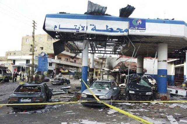 Les fiefs du Hezbollah au Liban ont été... (PHOTO RAMI BLEIBEL.REUTERS)
