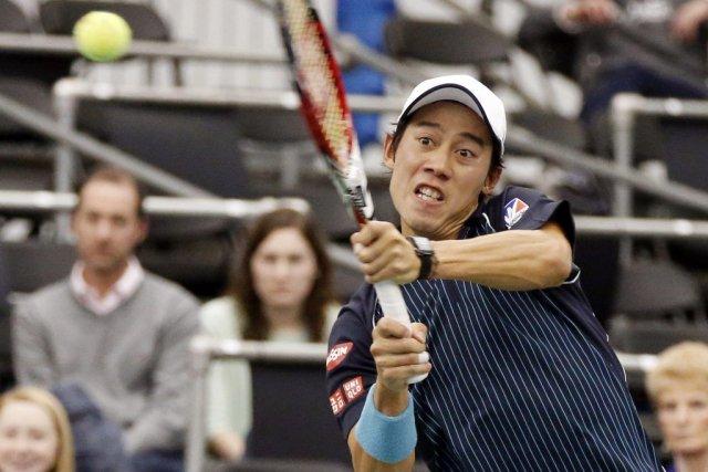 Kei Nishikori a remporté sonquatrième titre en carrière.... (PHOTO ROGELIO V.SOLIS, AP)