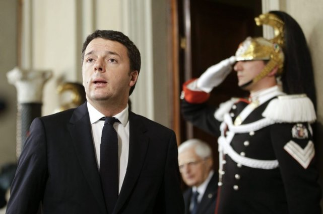À 39 ans, Matteo Renzi devrait devenir le plus... (PHOTO REUTERS)